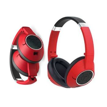 Genius Wireless Bluetooth Stereo Headset - Red